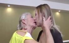 Old & Young Lesbian Porn